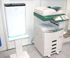 Toshiba green copier produces erasable documents
