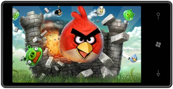 Angry Birds coming to Windows Phone 7: late spring