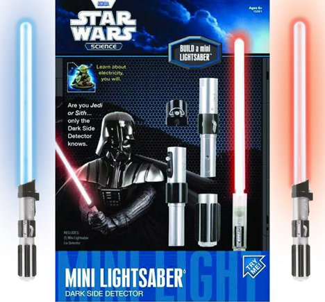 Mini Lightsaber tells you if you're a Sith or a Jedi