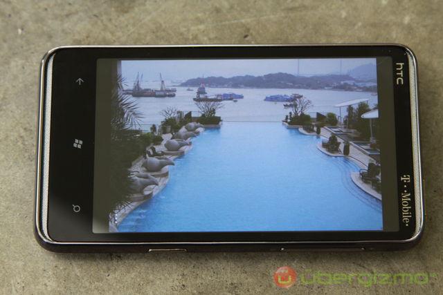HTC HD7 Display