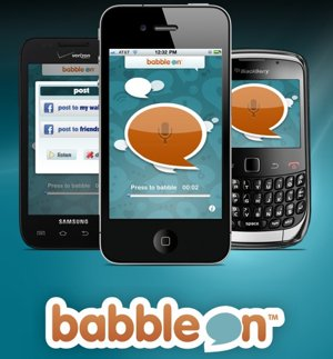 BabbleOn brings voice messages to Facebook