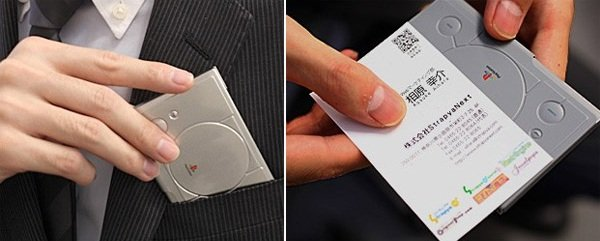 Playstation business card case shows your love for the console playstation business card case colourmoves