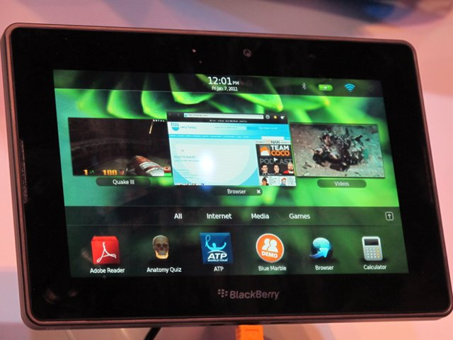 blackberry playbook. BlackBerry PlayBook delayed