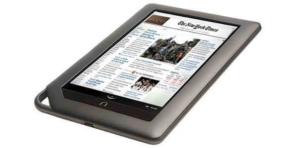 new york times nook color