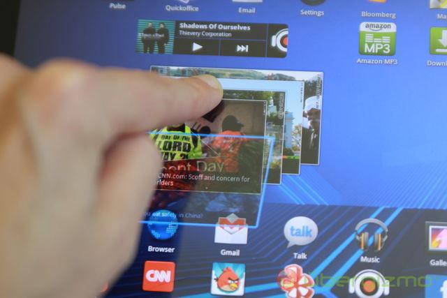 Galaxy Tab 10.1 widget CNN
