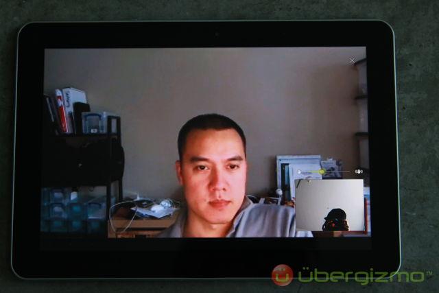 Galaxy Tab 10.1 Google Talk