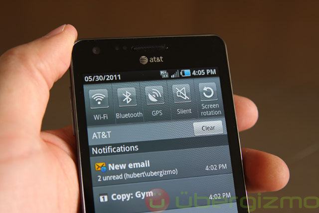 infuse 4g review