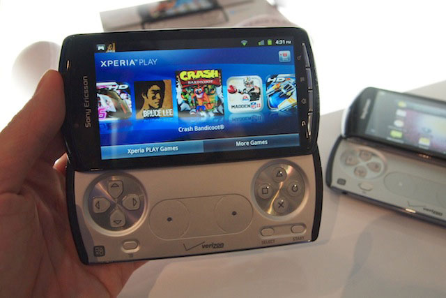 Sony Ericsson giving away four games for Xperia Play on October 1st