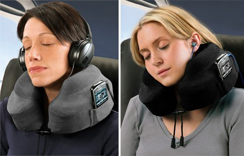 Evolution Neck Pillow makes sleeping on flights comfortable