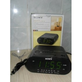 Sony Alarm Clock and Radio is a HD Spy Camera
