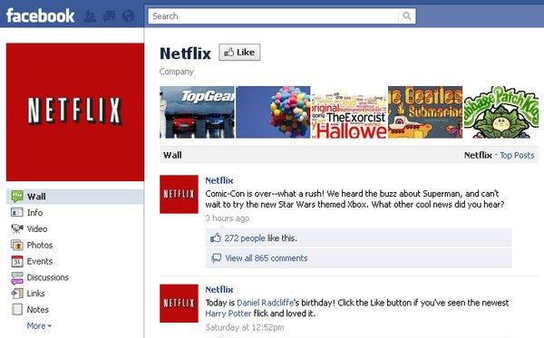 Netflix and Facebook integration is a pipe dream