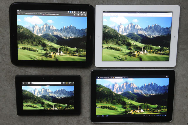 HP TouchPad Display