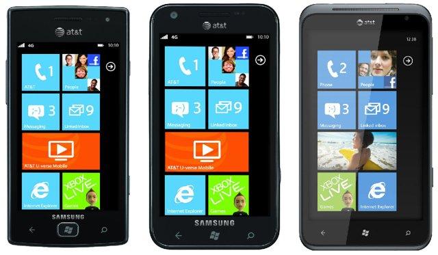at t announces a trio of new windows phones ubergizmo