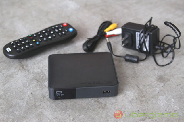 Connect wd tv live to slingbox login information request