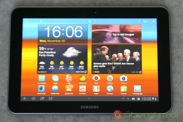 samsung galaxy tab 8 9 review ubergizmo rh ubergizmo com samsung ce0168 owners manual samsung tablet ce0168 instruction manual