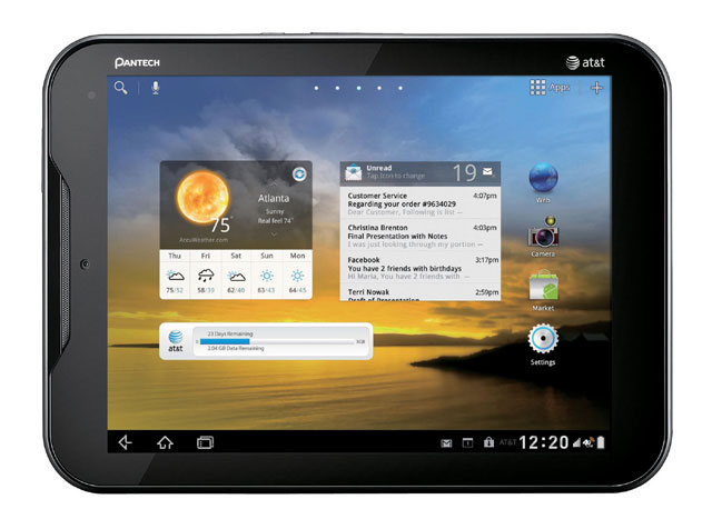 Pantech Element waterproof Android tablet
