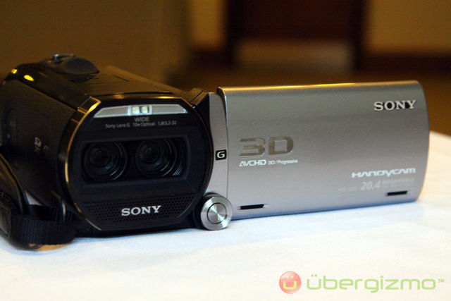 sony hdr td10 3d