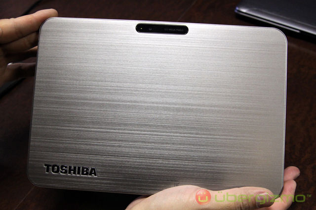 Toshiba Excite X10: tablette 10 pouces ultra mince