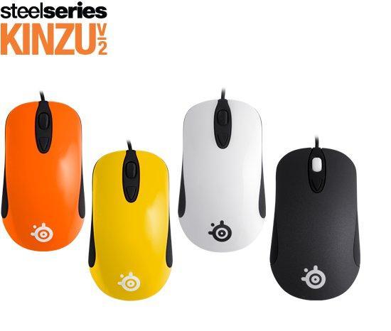 Обзор игривой мыши SteelSeries Kinzu v2