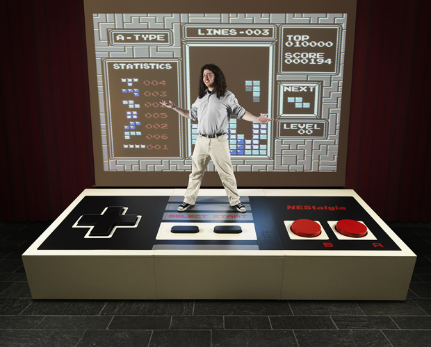 NES console has worlds largest video game controller record