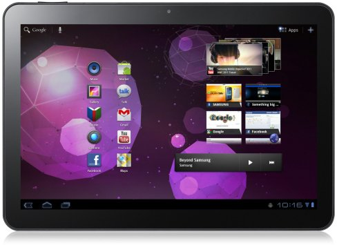 Google and others reportedly warned Samsung that the Galaxy Tab 10.1 was too similar to the iPad