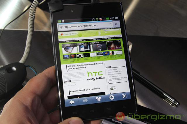 Global LG Optimus Vu gets Tegra 3