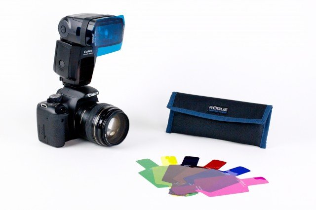 Colorful Filters for Old Flashguns from Photojojo