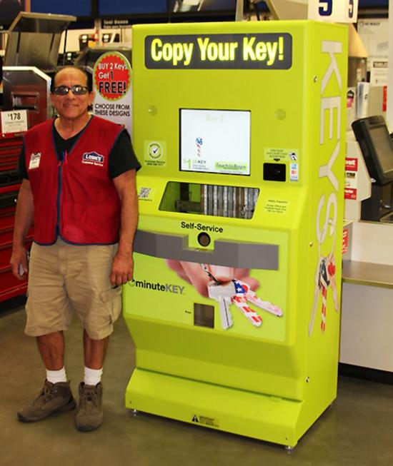 Walmart Key Maker >> Minutekey Kiosk Duplicates Your Keys Ubergizmo