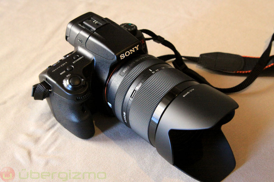 Rumored Sony A3000 (ILC-3000) To Sport 20MP Sensor | Ubergizmo