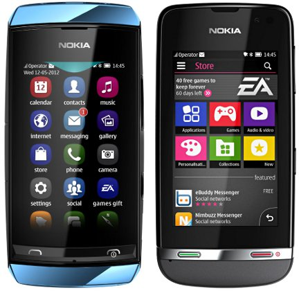 Nokia Asha 306 Harga dan Spesifikasi Nokia Asha 306 Harga