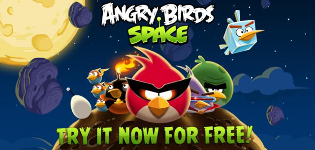 Rovio launches free version of Angry Birds Space for iOS devices
