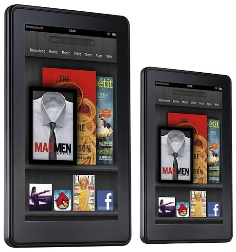 Amazon rumored to launch two 7 Kindle Fire tablets