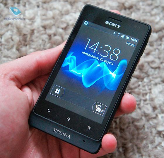 Sony xperia go st27i preview