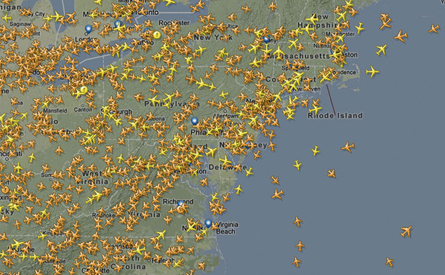 Track flights in the air in real-time with FlightRadar24 | Ubergizmo