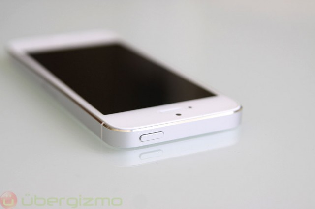 iPhone 5 Review, top