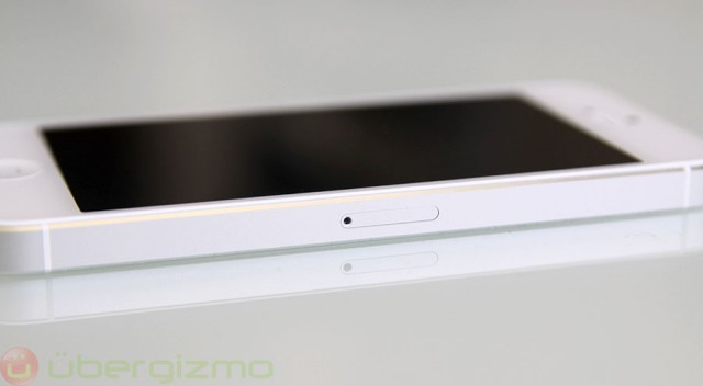 iPhone 5 Review, sim tray