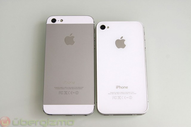 iPhone 5 review, back