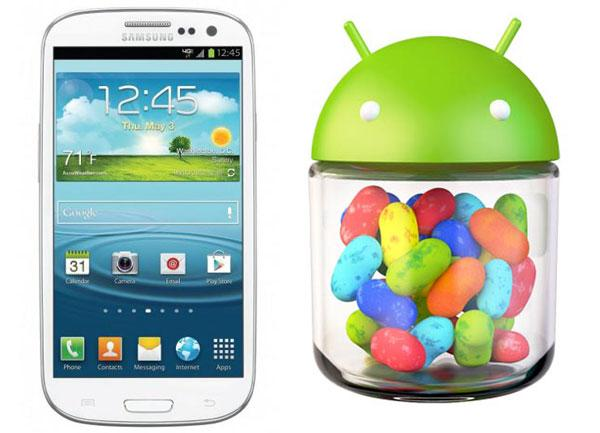 "Samsung Galaxy S3 Android 4.1 Jelly Bean confirmed for ""the coming months"""