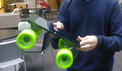 Microsoft Surface tablet skateboard