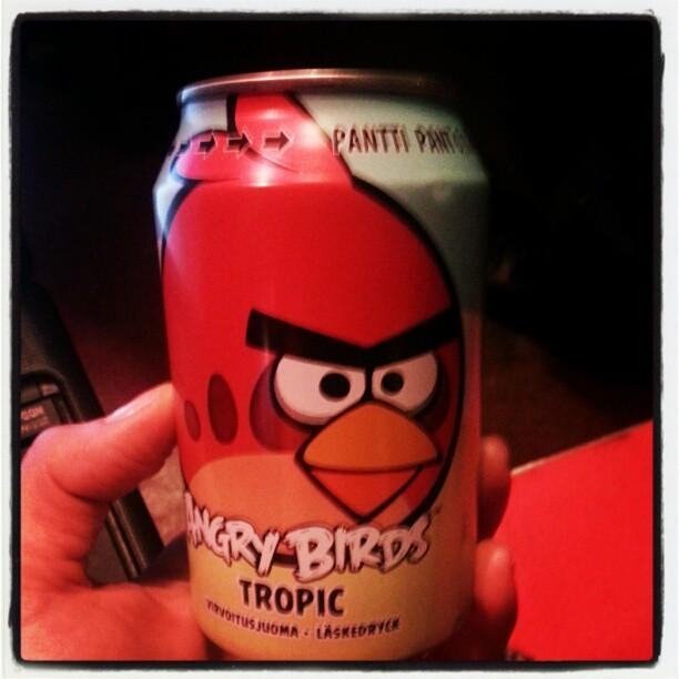 Rovios Angry Birds soda drink outsells Coke and Pepsi in Finland