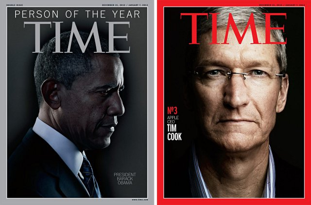 President Obama Is TIMEs Person Of The Year, Tim Cook Is Second Runner Up