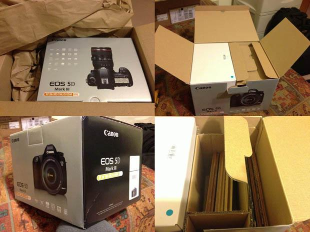 Man Orders Canon 5D Mark III Camera, Receives Box Of Laminate Flooring Instead