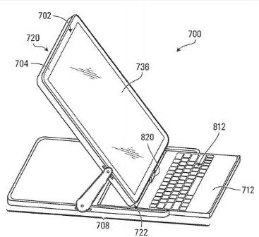 Blackberry Files Patent For A 180 Degree Hinge