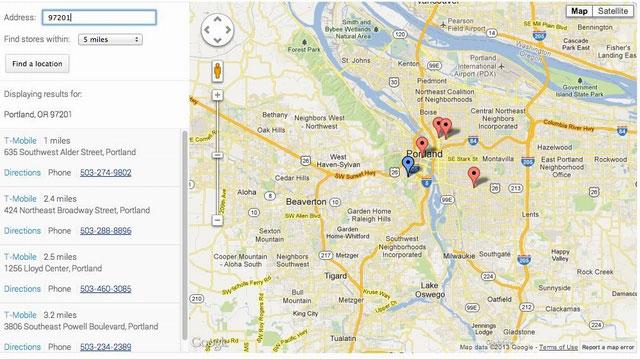 google locator maps