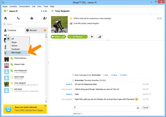 Windows Live Messenger Merging With Skype on April 8
