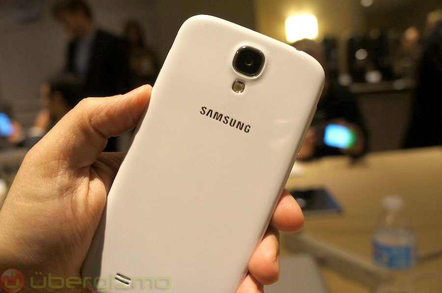 Go back to Samsung Galaxy S4 Hands-On Review