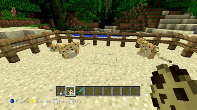 Minecraft xbox 360 edition 1. 8. 2 update new tutorial world all.