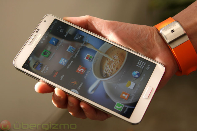 galaxy note 3 review ubergizmo