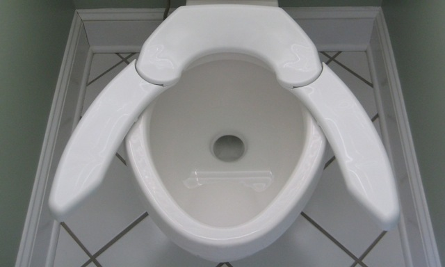 Big butt on toilet images
