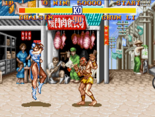 Street Fighter Ii S Chun Li Almost Came With A Shorter Life Bar Ubergizmo